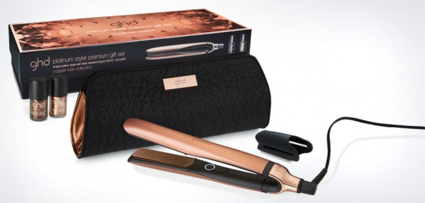 ghd Platinum Copper luxe gift set